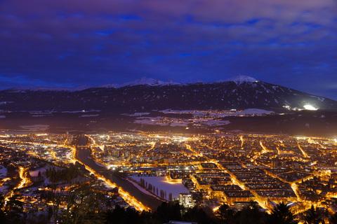 Innsbruck - Bilder der Landeshauptstadt Tirols am Ufer des Inn.